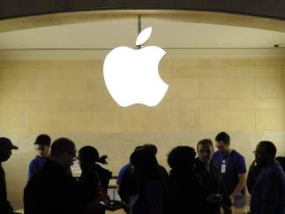 Imagen de una tienda de Apple