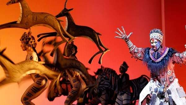Musical 'El rey león'