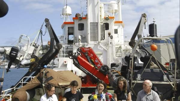 Ecologistas contra las perforaciones petrolíferas en Canarias