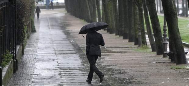 Las lluvias se impondrán en la mayor parte de la Península en el inicio de la semana