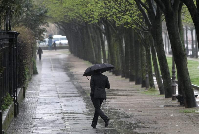 El invierno regresa a espa a este fin de semana con lluvia for Imagenes de patios de invierno