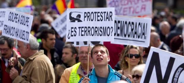 Manifestación por los derechos civiles