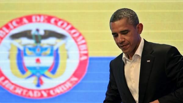 Obama en Colombia