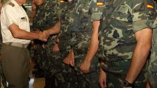 Militares españoles