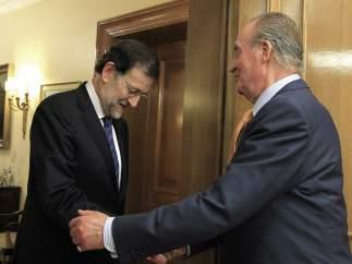 Rajoy y el rey
