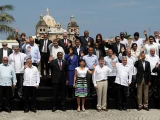 Foto oficial de la Cumbre de las Américas