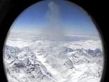 Un glaciar, desde el cielo