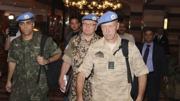 La ONU, en Siria