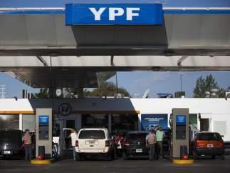 Gasolinera de YPF
