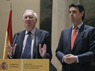 García Margallo y Soria condenan la expropiación