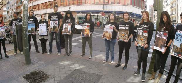 Protestas animalistas