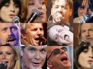 Actores cantantes