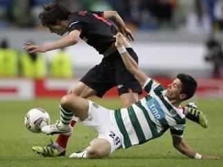 Iturraspe en el Sporting - Athletic