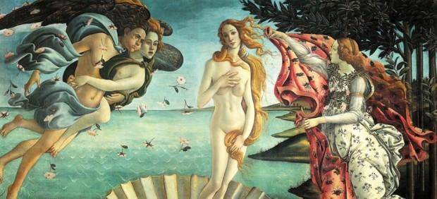 'El nacimiento de Venus'