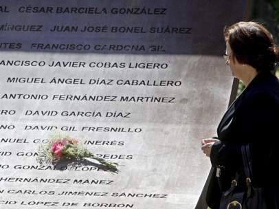 Homenaje a los fallecidos en el Yak-42
