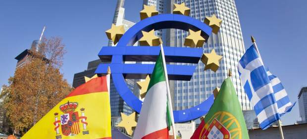 Banderas frente al BCE