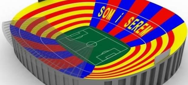 Mosaico Barça-Madrid