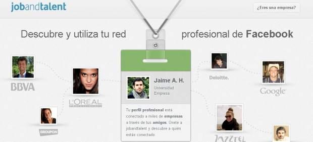 ¿Se puede utilizar Facebook como escaparate profesional para encontrar trabajo?