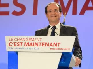Hollande, tras su victoria