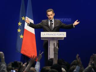 Sarkozy, tras su derrota ante Hollande