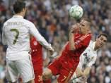 Cristiano Ronaldo y Ribery en el Madrid - Bayern