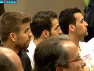 Jugadores Barça