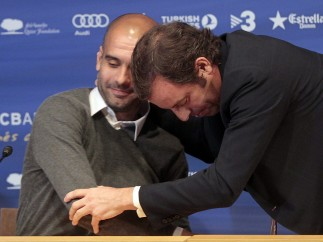 Pep se despide del Barça