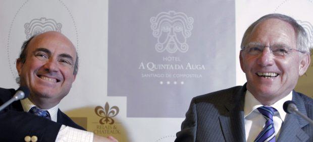 Guindos y Schäuble
