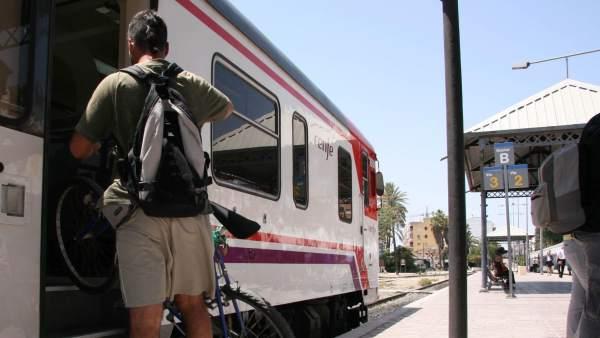 Viajero de tren