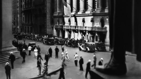 'New York Stock Exchange', New York City 1933