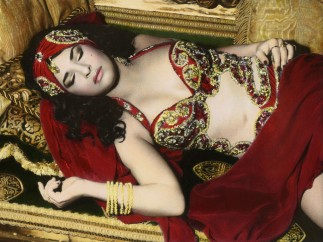 'Natacha sleeping', Cairo. 2000