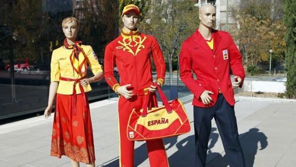 Uniforme de España para los Juegos de Londres 2012