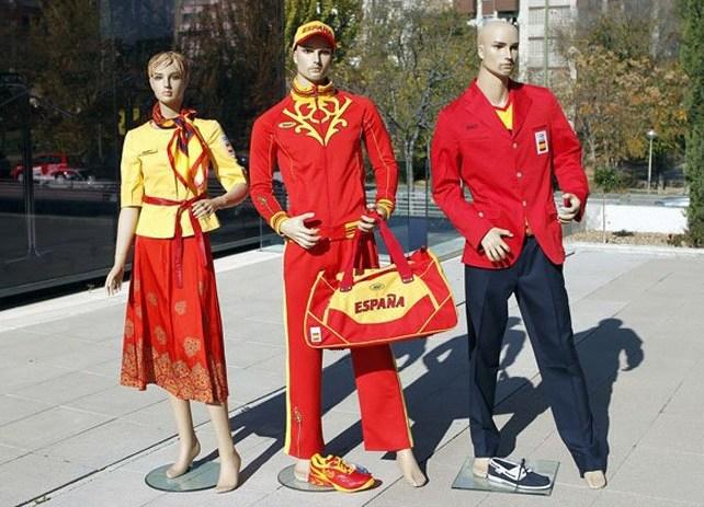 Los uniformes de JJOO (Juegos Olimpicos) de Londres 2012 59057-642-463