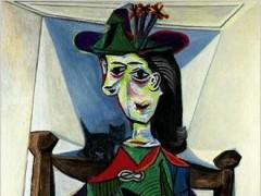 Sale a subasta un retrato de Picasso de su amante Dora Maar