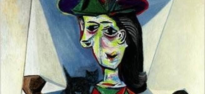 'Dora Maar con gato', de Picasso