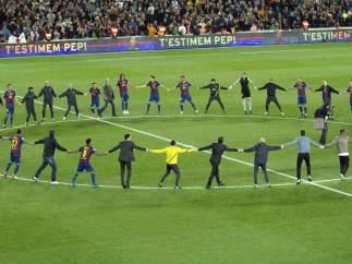 Despedida Pep Guardiola
