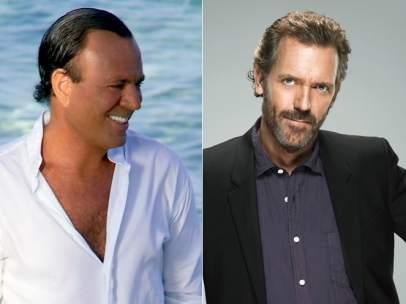 Raphael, Julio Iglesias y Hugh Laurie