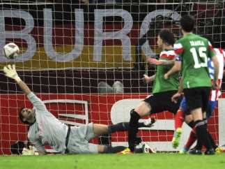 Segundo gol del Atlético