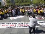Protestas por los recortes en Educación