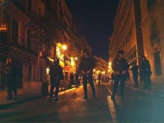 Asamblea del 13M: cerco Policial en la calle Carretas.