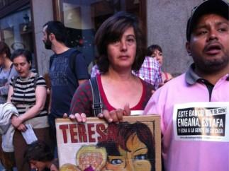 Protestas contra Bankia