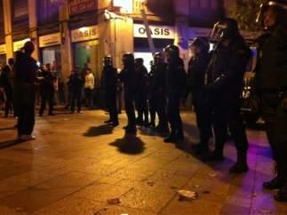 14M: La policía entra en Sol