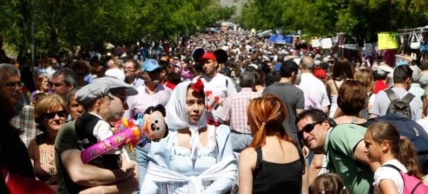 Madrid se 'viste' de chulapo en San Isidro
