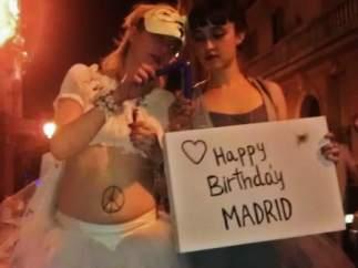"""15-M: """"Happy Birthday, Madrid"""""""