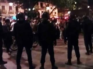 Cerco a los indignados en Tirso