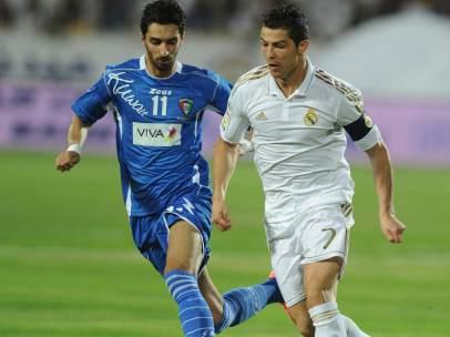 Cristiano Ronaldo ante Kuwait