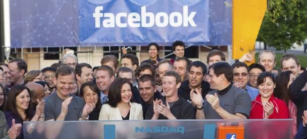 Facebook hace historia con su estreno en Bolsa pese a arrancar con una leve subida del 0,6%