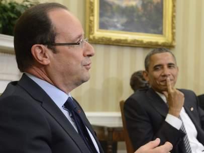 Obama y Hollande