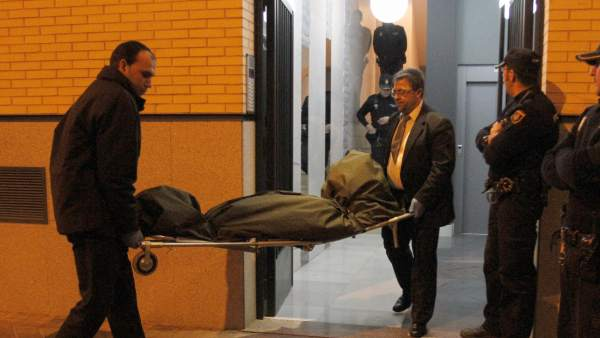 Retiran un cadáver en Madrid