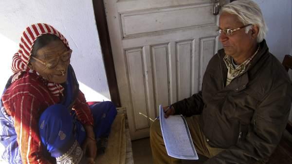 La última hablante del 'kusunda'